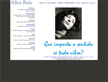 Tablet Preview of aliceruiz.mpbnet.com.br